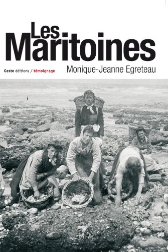 Les Maritoines par Monique-Jeanne Egreteau