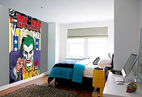 1Wall W2PL-BATMAN-003 Der Joker Batman Wall Mural/Fototapete