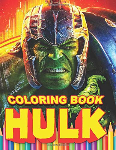 HULK Coloring Book: 94 Exclusive Illustrations