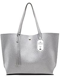 eec10e7d51 Turelifes Top Handle Satchel Handbags Lightweight Messenger Shoulder Bag  Large Tote Purse for Women