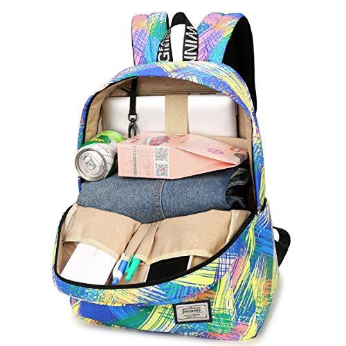 rivenditore online e2782 1529c Joymoze Zaino scuola media impermeabile per ragazze, borsa ...