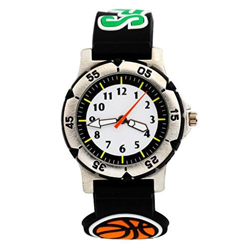 Silikon 3D Pattern sportliche Armbanduhr schönes Geschenk für Kinder