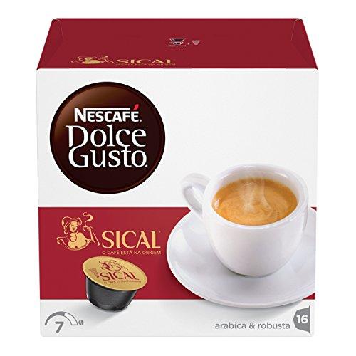 NESCAFÉ Dolce Gusto Sical, Caffè Espresso, 3 Confezioni da 16 Capsule (48 capsule) 77