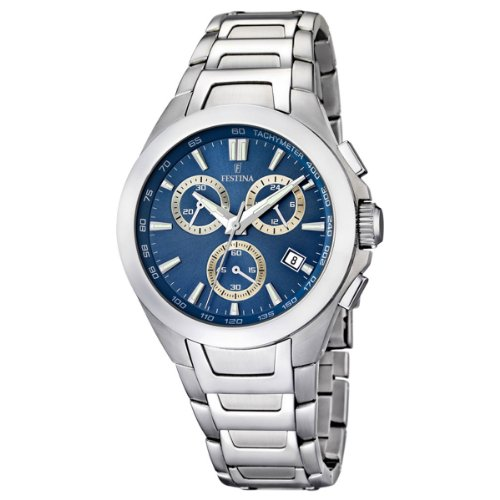 Festina Gents Watch XL Analogue Quartz Stainless Steel F16678 / 5