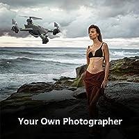 lanspo RC Quadcopter Drone con Cámara HD S5RC helicóptero Warrior Drone Quadcopter 2.4GHz 4CH 6Axis 2MP HD cámara, negro, 33 * 33 * 9cm