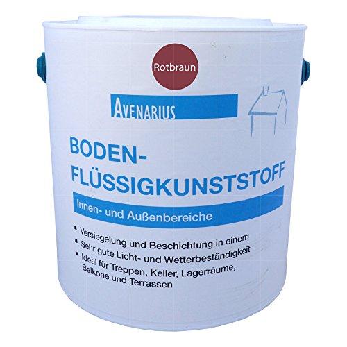 Preisvergleich Produktbild Avenarius Boden-Flüssigkunststoff - 2,5L (rotbraun)