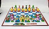 Super Mario Figuren + Schachbrett