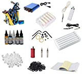 Tattoo Gizmo Permanent Tattoo Kit Included tattoo machine power supply tattoo needles more equipment.