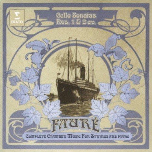 Faure:Cello Sonata No.1&2 Eleg (Faure-cello Sonata)