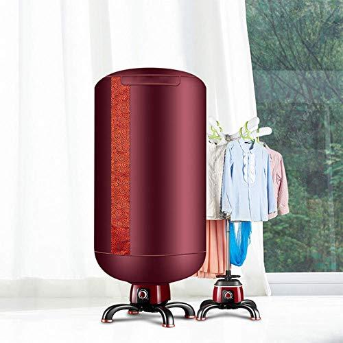 Dryer Elektrischer Wäschetrockner Tragbare Beheizte Wille 900 Watt Trocknen Bis Zu 10 Kg Wäscherei Automatische Timer Sechs Aufhänger Struktur Aluminium Halterung Material Wasserdichte Chassis -