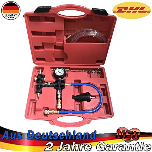 Kühlsystem Tester Kühler Abdrückgerät Kühler Drucktester 27 tlg.#1