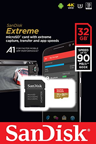 SanDisk-Extreme-32GB-microSDHC-UHS-I-Card-SDSQXAF-032G-GN6MA-Newest-Version
