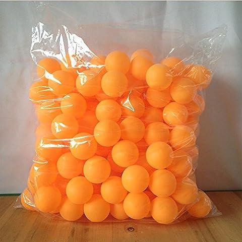 Table Multi Jeux 5 En 1 - Pingpong Balles de tennis de table, Orange/blanc,