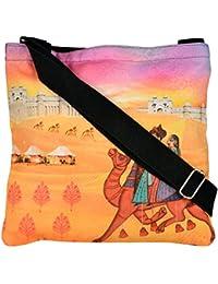 Eco Corner Women's Sling Bag (Multi-Coloured, 4002)