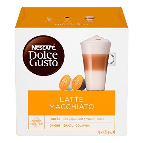 Nescafé Dolce Gusto Latte Macchiato, 16 Capsule (8 Tazze)