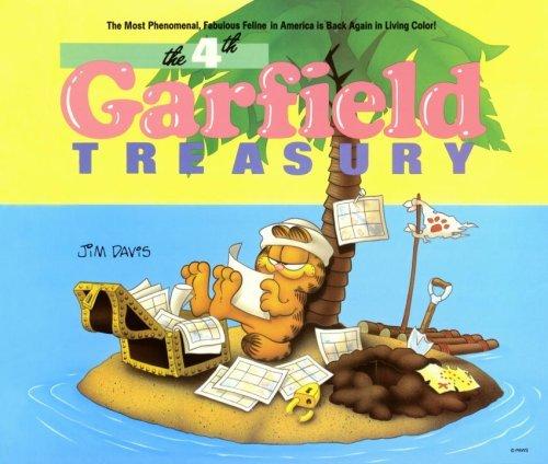Fourth Garfield Treasury by Jim Davis (1987-10-12) par Jim Davis