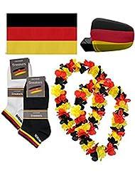 Deutschland Fanset zur WM 2014 19 tlg. als Paket