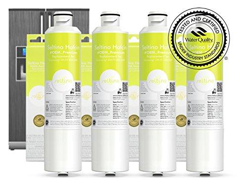 4x Seltino HAFCIN - kompatibler Wasserfilter für Samsung Kühlschränke, ersetzt DA29-00020B, HAFCIN/EXP, DA99-02131B, HAF-CIN/EXP
