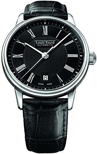 Louis Erard Héritage Classic Automatik Uhr, Schwarz, Tag, 69266AA22.BDC82