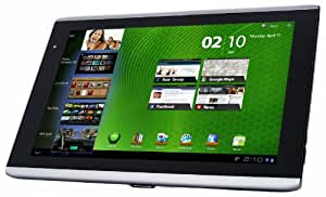 "Acer Iconia A501 Tablette PC 10.1"" (25.65 cm) Nvidia 16 Go 1024 Mo Android 3.0 Noir"