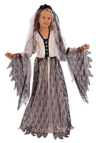 Corpse Bride Costume Enfant - Bristol Novelty CC642 Corpse Bride Costume (Medium)