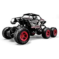 SZJJX 6WD RC Truck, Remote Control Off-Road Climbing Cars, 1/14 Scale High Speed Vehicle, 2.4Ghz Electric Radio Controlled Rock Crawler, All-Terrain RTR Buggy - Compare prices on radiocontrollers.eu