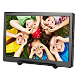 Portable HDMI UPERFECT Monitor Display Screen 1024x600 Compatible with 1920x1080 Resolution 7 inch Support Raspberry Pi PS4/xbox/Ns/xbox ones Computer MAC(Black)