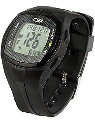 CSX Herzfrequenzmessgerät Uhr mit Brustgurt, HFM C536X
