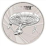 Star Trek 50. Jubiläum Raumschiff Enterprise 1 Silber - Dollar