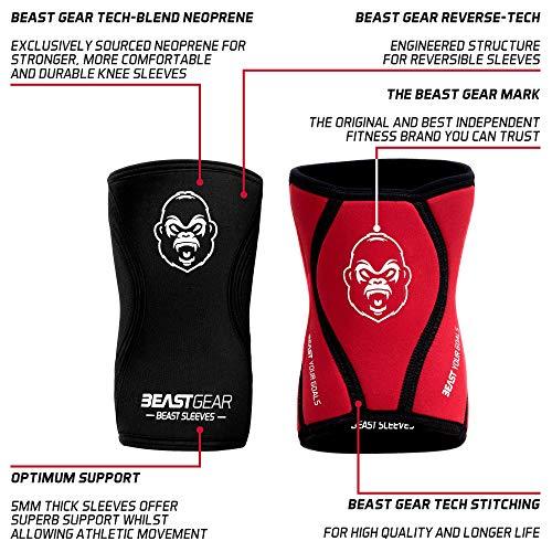 Zoom IMG-1 beast gear ginocchiere in neoprene