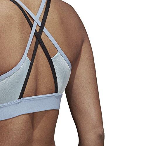 adidas Damen Halter Sport-Bh Ash Grey