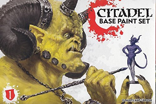Games Workshop 99179950002 Citadel Base Farb-Set
