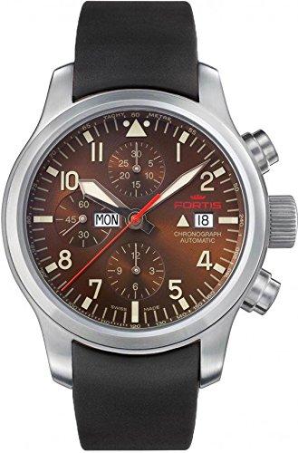 fortis-b-42-aeromaster-dawn-6561018k-mens-chronograph-excellent-readability