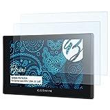 Bruni Schutzfolie für Garmin nüvi 2559/2569 (LM/LMT) Folie - 2 x glasklare Displayschutzfolie