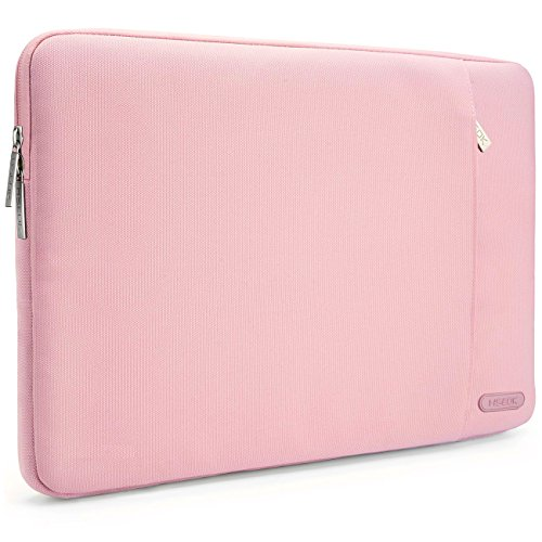 HSEOK 13-13,3 Pulgadas MacBook Air Funda Protectora para Ordenadores Portátiles PC Bolsa para la Mayoría de Las Laptop de 13-14 Pulgadas Surface Book Apple Acer Ausu DELL HP Lenovo, Rosa