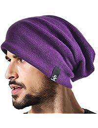 2cce91728fc Men Cool Cotton Beanie Slouch Skull Cap Long Baggy Hip-hop Winter Summer Hat  B305