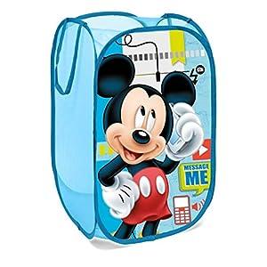 Superdiver Faltbarer Pop-Up Korb für Kinder mit Griffen – Disney Prinzessinnen I Wäschekorb I Organisationskorb für…
