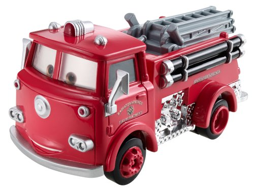Mattel-Y0547-Cars Deluxe - Red