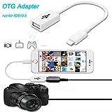 OTG USB Datenkabel Line für iPhone/iPad unten 10.3system 100mA für Apple Geräte USB 2.0Adapter Kabel (2Stück)