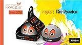 #9: FRAGGi™ Premium Quality Air Freshener Car Perfume For Dashboard (Raga: The Passion, Black, 80 g)