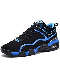 SHELAIDON Zapatillas de Baloncesto Running Hombre, Zapatos para Mujer, Basketball Shoes