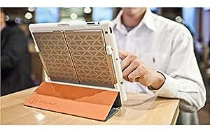 IN2UIT Boompack Blanc - Étui avec enceinte Bluetooth pour iPad 2G, 3G et 4G