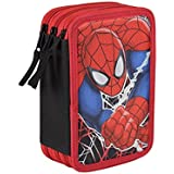 Spiderman - Plumier triple completo (Cerdá 2700-0168)