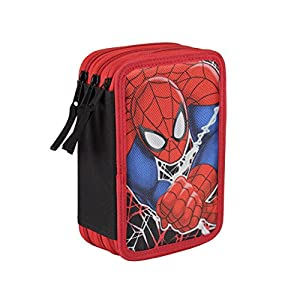 Spiderman – Plumier Triple Completo (Cerdá 2700-0168)