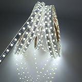 10M LED Stripes mit Schalter, 5050 IP65 Led Lichtstreifen, 220V , Weiß