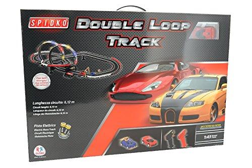 Globo Toys Globo–37432587cm spidko Track mit 2Autos und Zubehör (Remote-control Car Und Track)