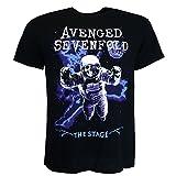 Avenged Sevenfold Polarised Astronaut Schwarz T-shirt Offiziell Zugelassen Musik