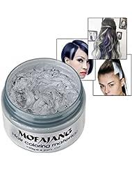KISSION Bricolage Cheveux Unisexe Cire Colorant Creme Temporaire 7 Couleurs