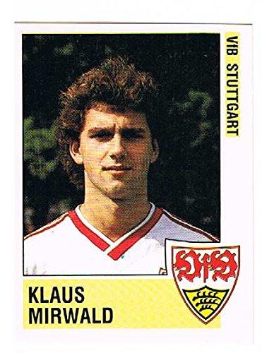 No.277 Klaus Mirwald of VfB Stuttgart - Fussball 89 - Panini
