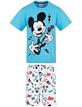 Disney Mickey Chicos Pijama mangas cortas - Azul
